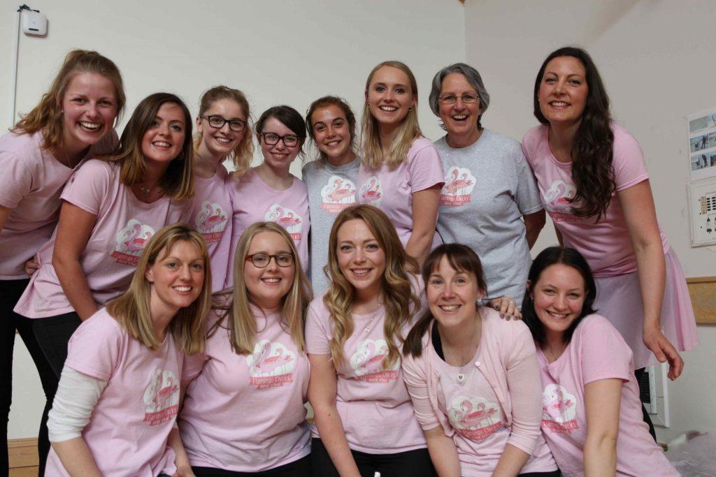 Flamingo Chicks' amazing volunteer team