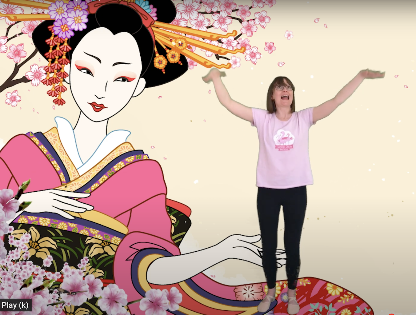 A virtual class based on Madame Butterfly