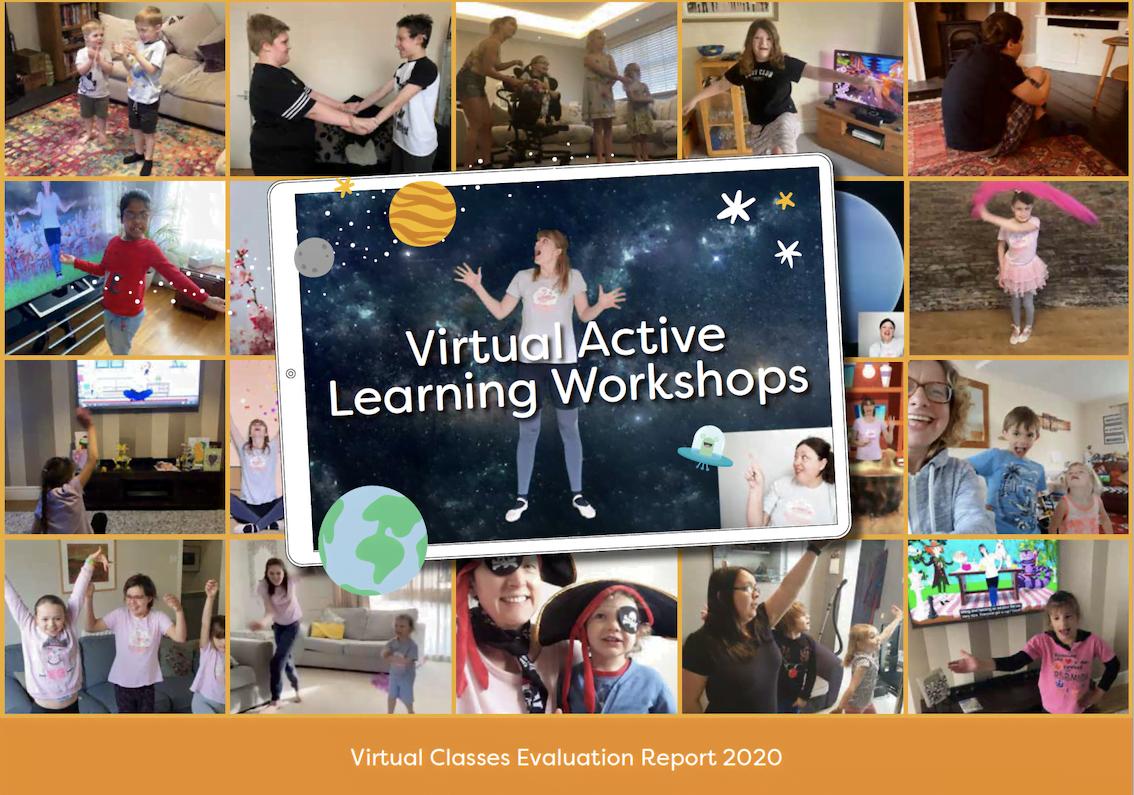 Virtual Active Learning Workshop flyer