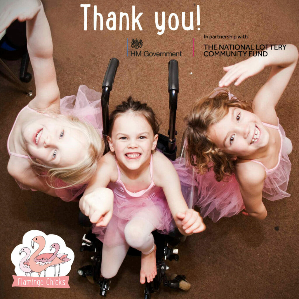 National Lottery Community Fund - thank you!