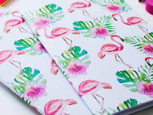 A5 Flamingo notebook