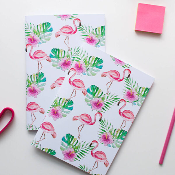 A5 Flamingo notebook for sale