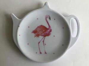 Flamingo tea tidy