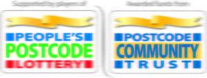 People's Postcode Lottery and Postcode Community Trust logos