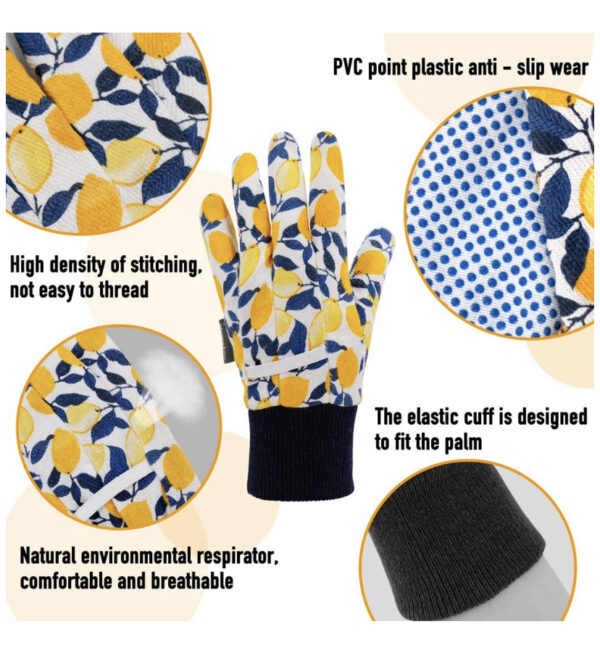 Detailed view of Gloves